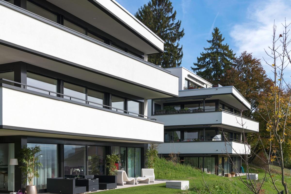 Mehrfamilienhaus Zürich | 1a hunkeler fenster AG und 1a hunkeler ...