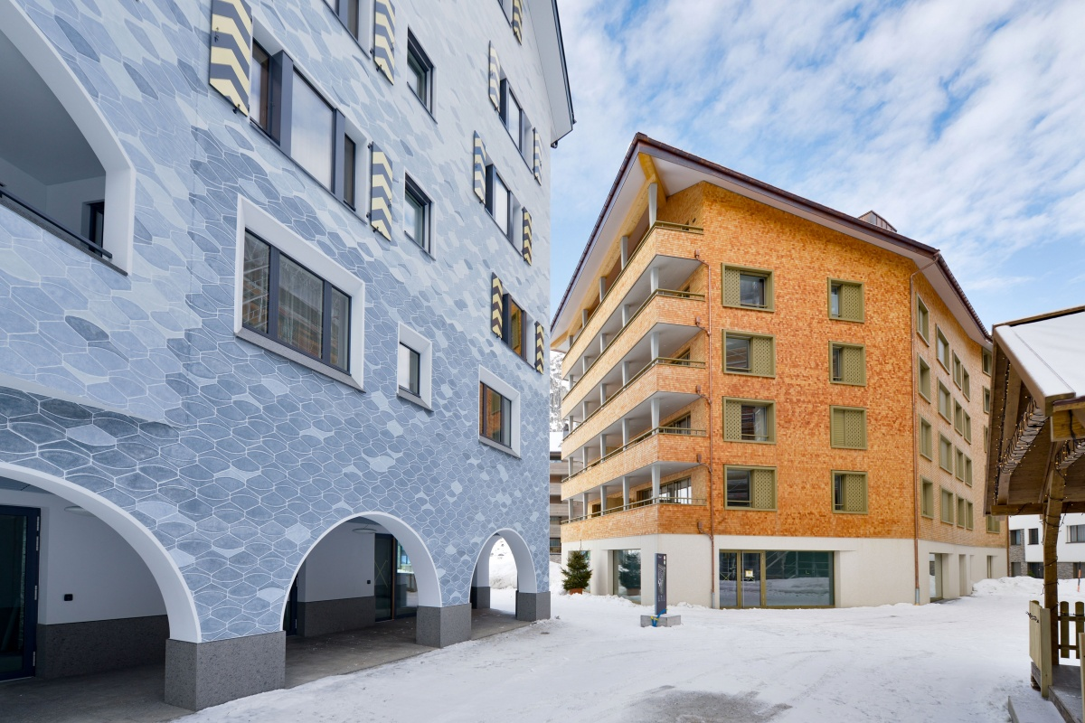 Neubau Swiss Alps Andermatt | 1a hunkeler fenster AG und 1a hunkeler ...