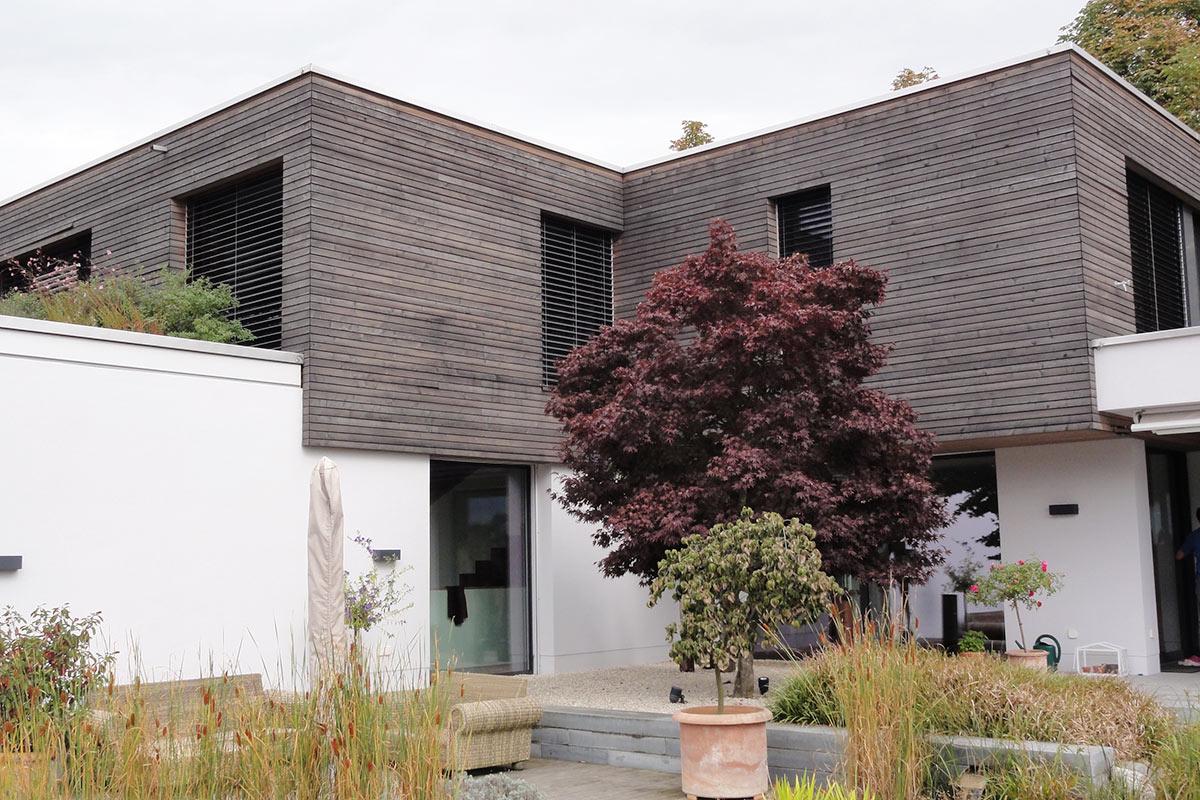 Informationen und ideen f r holzfassaden for Casa minimalista 90m2