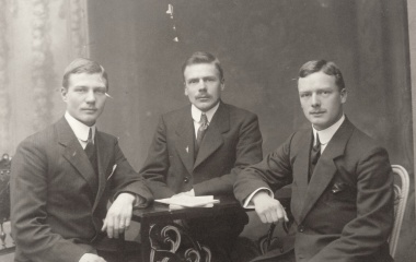 Die Brüder Hunkeler - Julius in der Mitte