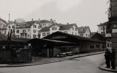 Seit 1867 auf dem Schlossberg - der Betrieb J. Hunkeler, Söhne um 1929