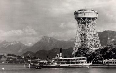 Von den Hunkelers 1952 erbaut: das Wahrzeichen der Weltausstellung