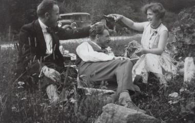 Maria Hunkeler-Trucco geniesst die Freizeit mit ihrem Ehemann