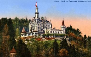 Prachtsbau mit Panoramablick und eigener Standseilbahn von 1884