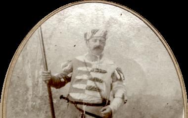 Verkleideter Josef J.B. Hunkeler