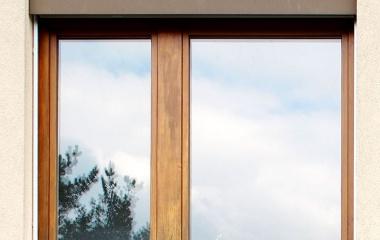 Fenstereinbau – vorher