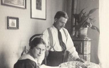 Maria und Jules mit Kind