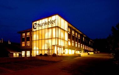 Das 2004 in Minergie P Standard erstellte  Bürogebäude in Ebikon