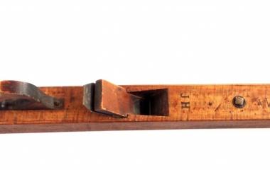 Handhobel mit Initialen  (Firmenarchiv 1a Hunkeler)
