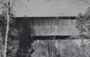 Widigbrücke über die Grosse Fontanne
