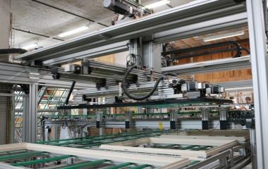 Die modernen TOP-WIN Ganzglas Fenster werden bei 1a fenster in Ebikon produziert