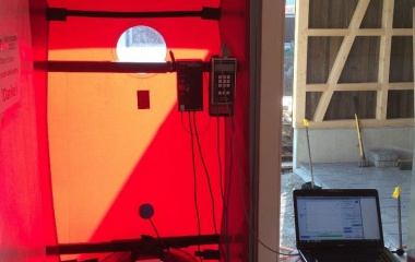 Der Blower Door Test wurde bestanden!