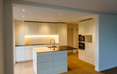 Küche - Das Haus ist bereit für den Einzug