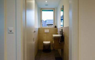 WC - Das Haus ist bereit für den Einzug