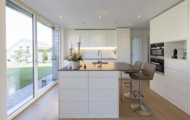 fertiggestelltes Einfamilienhaus Innenansicht