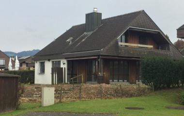 Einfamilienhaus vor dem Umbau