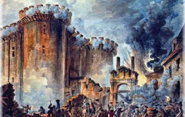 14. Juli 1789 Sturm auf die Bastille