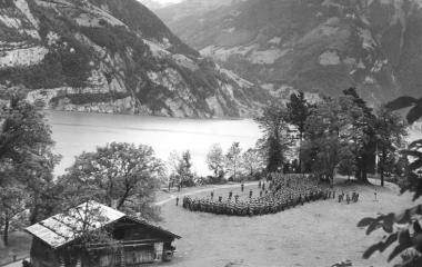 1940 Generalsrapport auf dem Rütli während dem 2. Weltkrieg