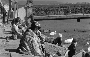 1960er Jugendbewegungen - Hippie an der Reuss