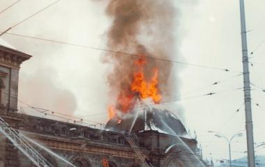 1971 Zuckerlager brennt - Luzern riecht nach Caramel