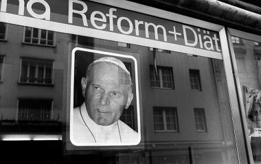 1984 Papstbesuch - Paul Johannes II in Luzern