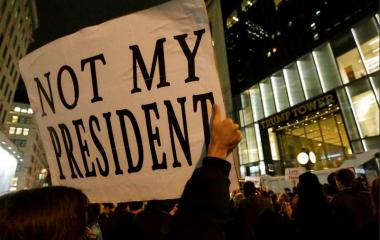 20. Januar 2017 Donalt Trump neuer Präsident der USA
