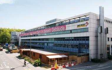 2009 Umbau der ehemaligen Postverteilzentrale Luzern