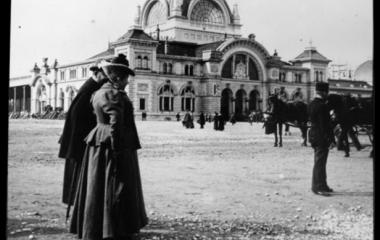Promenieren in der Belle Époque um 1900