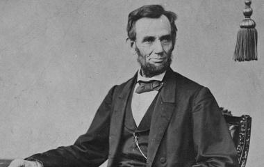 Abraham Lincoln (1809-1865) - 18.12.1865 Aufhebung der Sklaverei