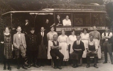 Angestellte Hotel Tivoli 1912