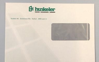 Briefpapier mit Firmenlogo