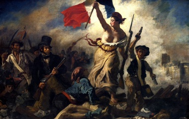 1830 Julirevolution Frankreich - Eugène Delacroix