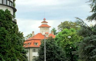 Türmchen auf dem Himmelrich an der Obergrundstrasse