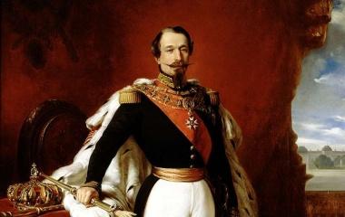 Napoléon III. 1848-52 Präsident und 1852-70 Kaiser der Franzosen