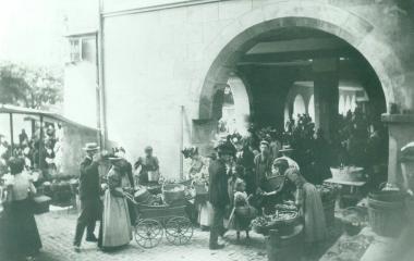 Markt unter der Egg um 1900