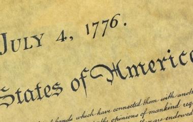 4. Juli 1776 Unabhängigkeit der Vereinigten Staaten von Amerika