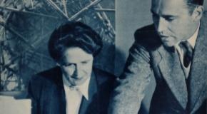 Maria Hunkeler-Trucco und ihr Sohn Jules Hunkeler