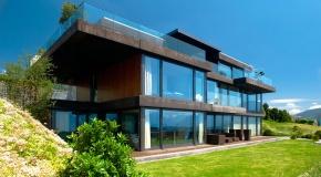 Holz-Metall-Fenster - Fenster aussen