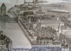 Um 1860 neu erstellte Bahnhofstrasse