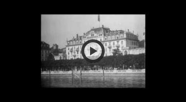 Luzern und der Vierwaldstädtersee um 1906